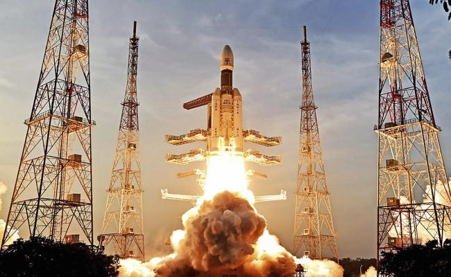 ISRO Launch GSLV Mk III D2 Rocket Photo Gallery - Sakshi