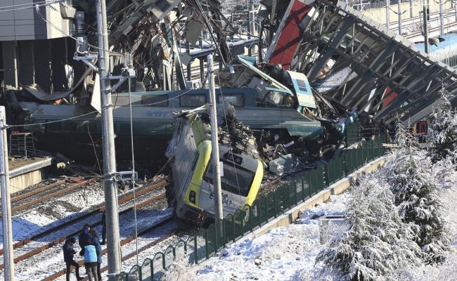 Train Accident in Ankara Photo Gallery - Sakshi