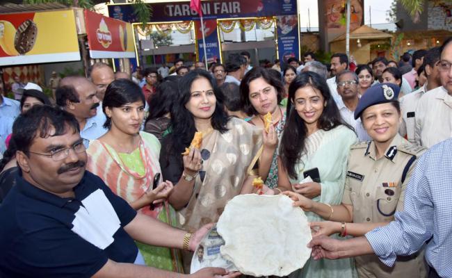 Taruni Exhibition n Madhura nagar Metro Station - Sakshi