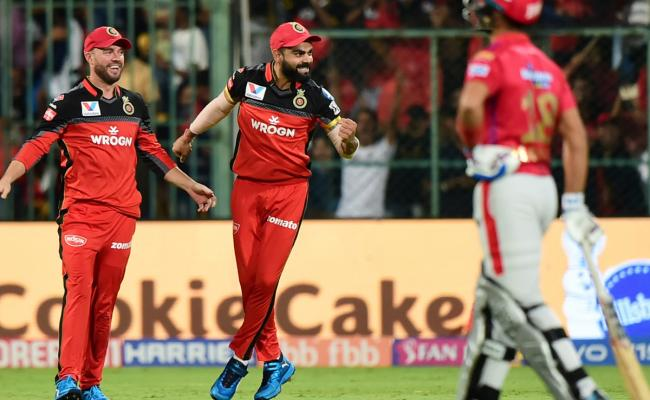 Royal Challengers Bangalore Vs Kings XI Punjab IPL Match Photo Gallery - Sakshi