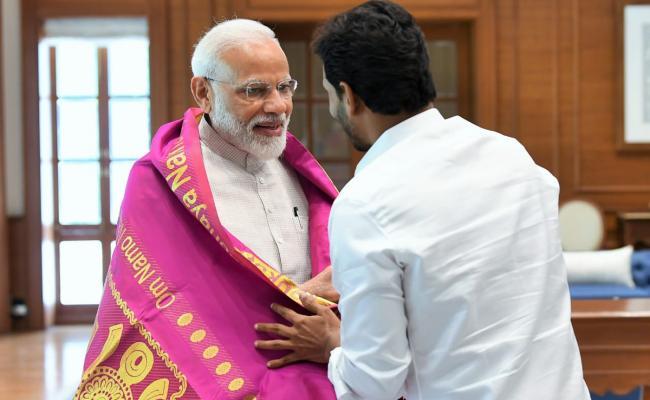 YS Jaganmohan Reddy meets PM Narendra Modi Photo Gallery - Sakshi