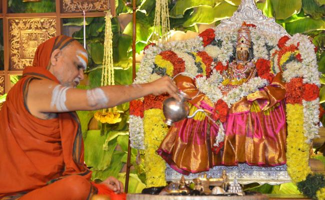 Kiran BalaSwamy Sanyasa Deeksha in Sharada Peetham Photo Gallery - Sakshi