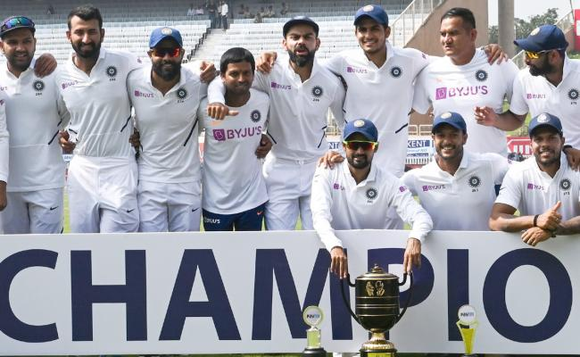 India crush South Africa by an innings and 202 runs PHoto Gallery - Sakshi