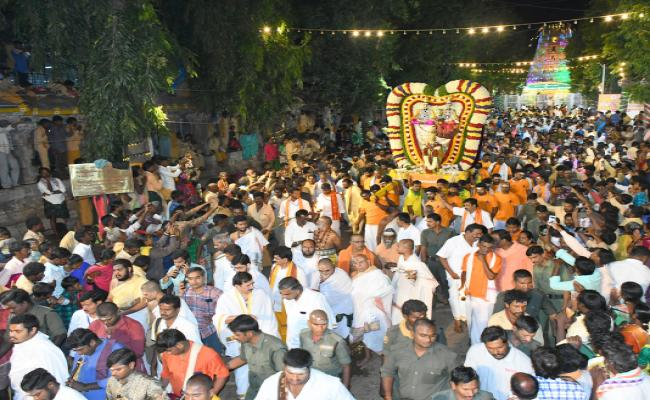 Srisailam Mallikarjuna Swamy In Mayura Vahana Photo Gallery - Sakshi