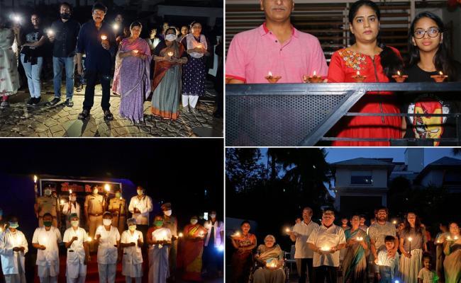 People Successfully Completed Diya Jalao Photo Gallery - Sakshi