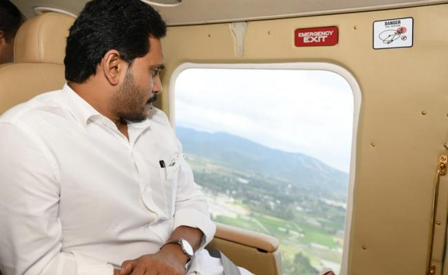 CM YS Jagan Aerial Survey Nivar Cyclone Areas Photo Gallery - Sakshi
