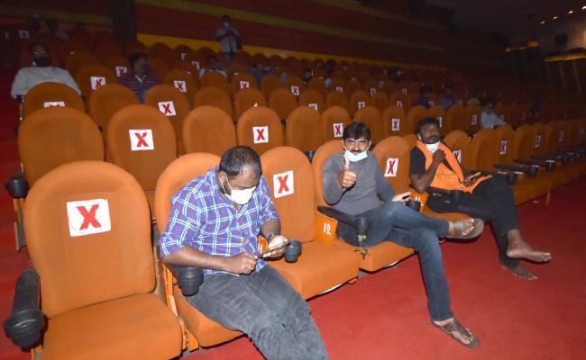 Theatres Reopen in Telangana - Sakshi