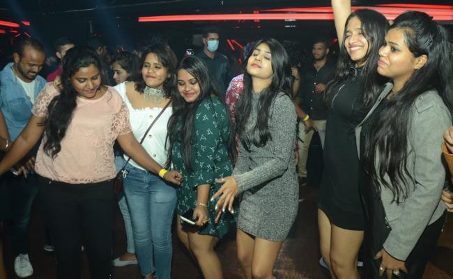 New year 2021 Celebration in Hyderabad - Sakshi