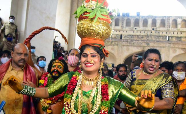 Golconda Bonalu Celebrations 2021 Pics - Sakshi