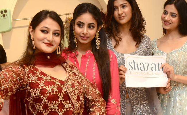 Grand Launch of Shazan Ethnic Casual Wear at Abids - Sakshi