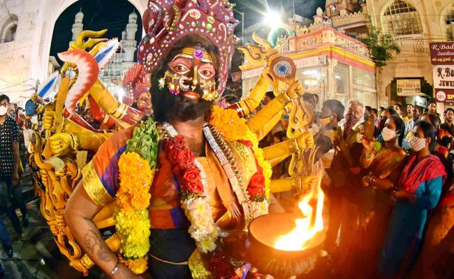 Hyderabad bonalu Rangam Photo Gallery - Sakshi