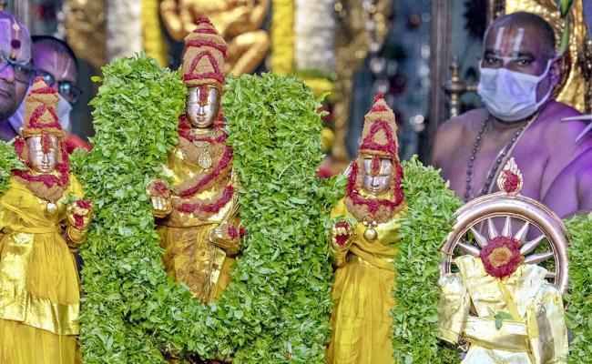Tirumala Tirupati Brahmotsavam 2021 Photo Gallery - Sakshi