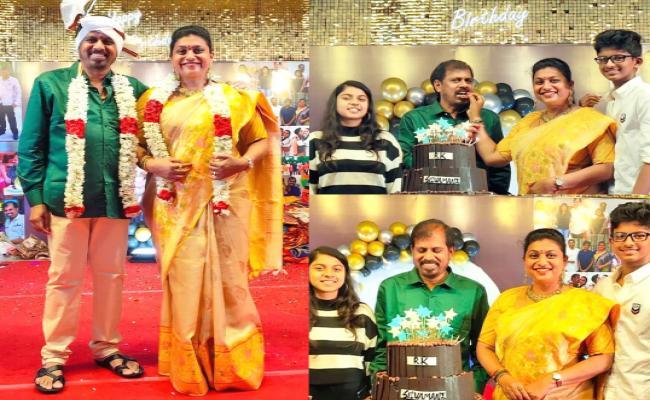 MLA Roja Husband RK Selvamani Birthday Celebrations Photo Gallery - Sakshi