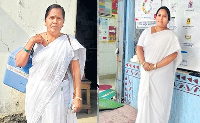 Two Nurses Honoured by With the National Florence Nightingale - Sakshi