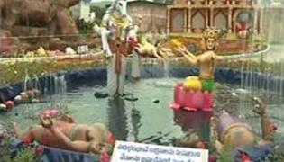 Fruity flower show in Thirumala