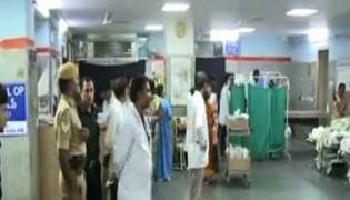 swine flu in gandhi hospital