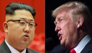 Kim-trump words of war