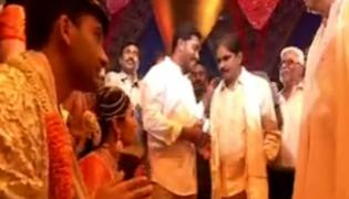 YS Jagan Attend  Ntv Chairman Narendra Chowdary Daughter's Marriage