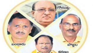 Chandrababu given shock to the senior's