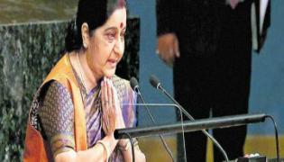 Pakistan Made Lashkar and Hezbollah Says Sushma Swaraj