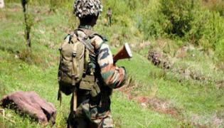heavy Encounter In Jammu And Kashmir