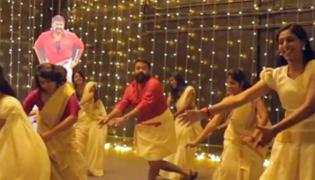 mohanlal jimmikkal kammal dance video viral