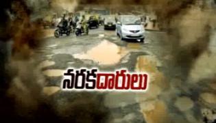 Heavy rains lash Hyderabad, roads damaged