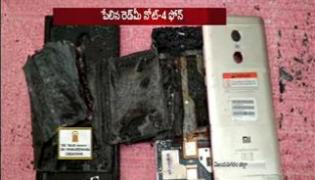 redmi note 4 mobile blast in vijayanagaram district
