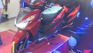New Honda Grazia scooter launched in Hyderabad - Sakshi
