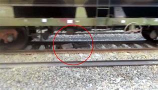 In Uttar Pradesh, Train Passes Over Man. He Walks Away Unhurt - Sakshi