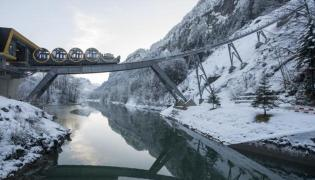 Switzerland build world's steepest funicular railway - Sakshi