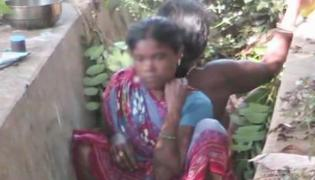 A woman gave birth to a baby in drain in hospital premises in Odisha - Sakshi