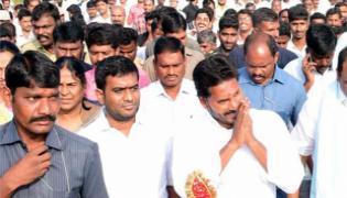 PrajaSankalpaYatra 37th day Scheduele Released - Sakshi