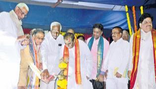 Day of literary greats at World Telugu Conference - Sakshi