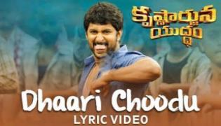 Nani Krishnarjuna yudham lyrical Video - Sakshi