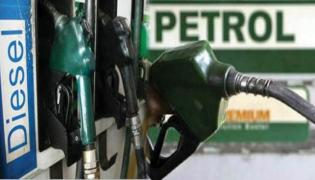 Petrol, Diesel Prices Continue to Rise - Sakshi