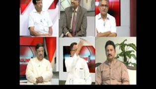 The headline show on discussion on telangana government GO - Sakshi