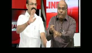 The headline show on discussion on TDP MLAs suspension - Sakshi