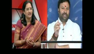 The Headline Show discussion on land polling - Sakshi