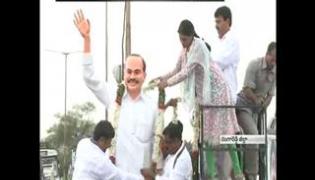 YS Sharmila completes 1st day Paramarsha Yatra in Rangareddy district - Sakshi