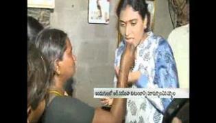 paramarsha yatra :YS Sharmila visit Narasimha family in Nalgonda - Sakshi