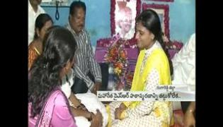 YS Sharmila completes 3rd day Paramarsha Yatra in Rangareddy district - Sakshi