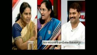 The headline show on discussion on YSRC questions legitimacy of land pooling system - Sakshi