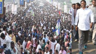 YS Jagan Praja Sankalpa Yatra To Enter Nellore tomorrow - Sakshi
