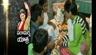 ys sharmila paramarsha yatra fourth day in warangal district - Sakshi
