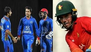 With Taylor ton Zimbabwe beats Afghanistan in second odi - Sakshi