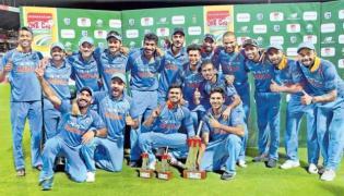 team india win the last  last ODI - Sakshi