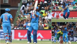 hikhar Dhawan, Bhuvneshwar Kumar help IND go 1-0 up - Sakshi