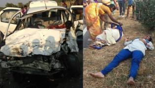 road accident in 44 national highway, seven person died - Sakshi