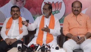 TS bjp leaders fires on trs govt and kcr - Sakshi